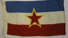 Jugoslawische Flagge