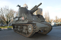 Panzerfahrzeug draußen