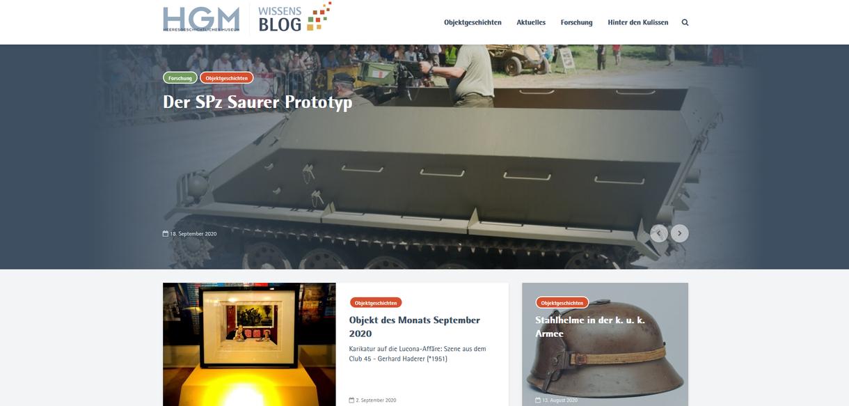 Seite im HGM-Wissens-Blog.