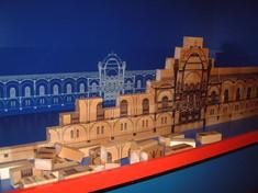 Holzmodell des Heeresgeschichtlichen Museums.