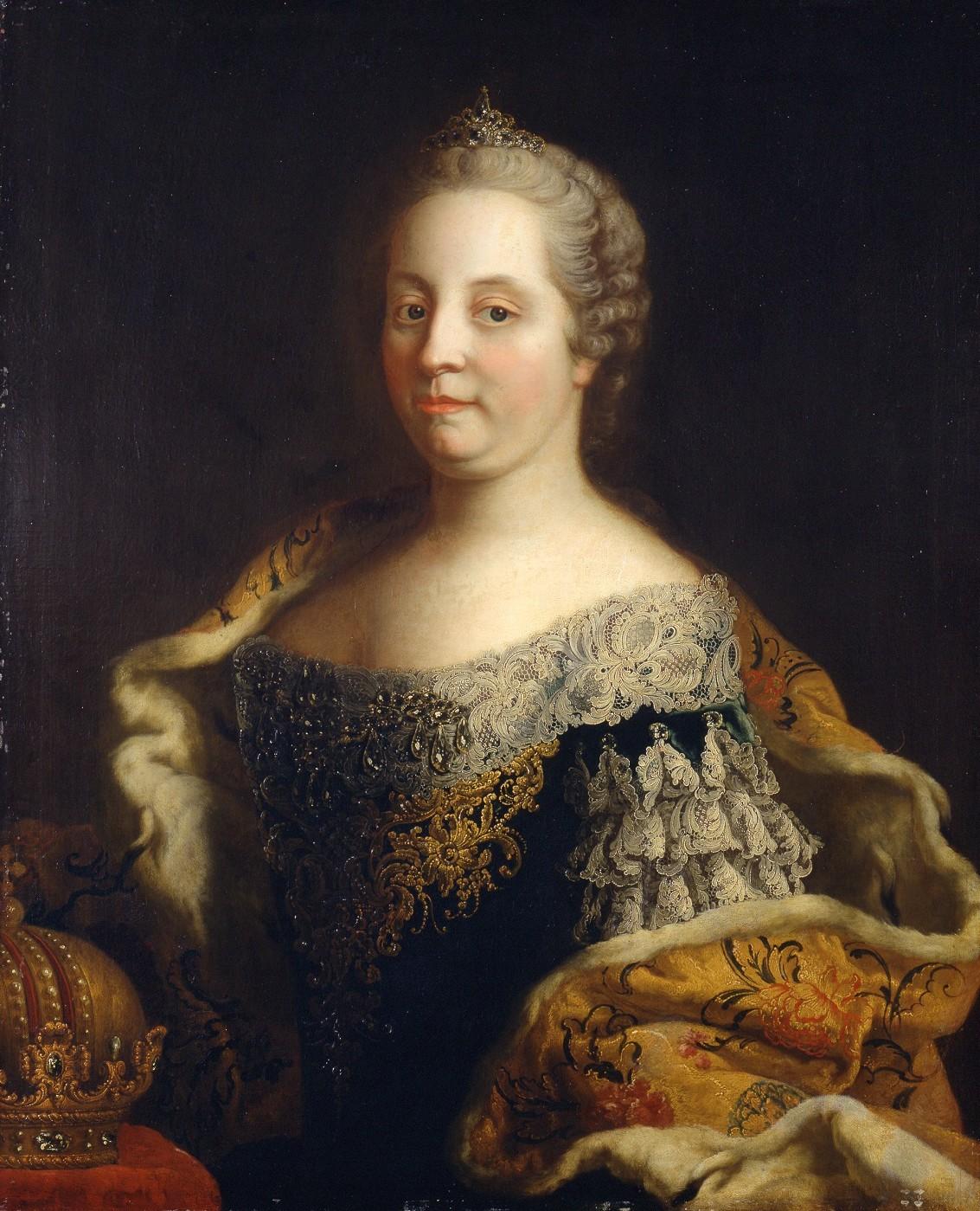 Gemälde von Maria Theresia.