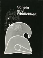 Plakat der Ausstellung mit einem gezeichnetem Helm.