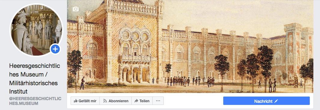 Der HGM-Facebook-Auftritt